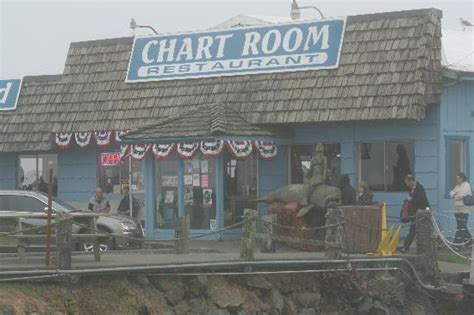 Chart Room Crescent City by The Chart Room On A Slightly Foggy Evening Picture Of