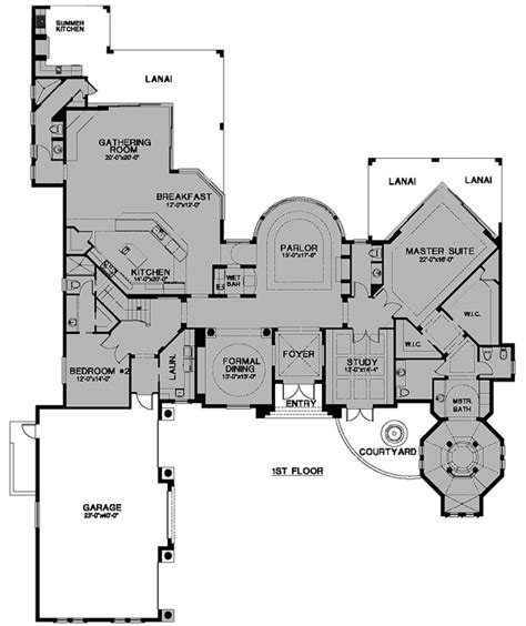 cool home floor plans house plan chp 24518 at coolhouseplans com