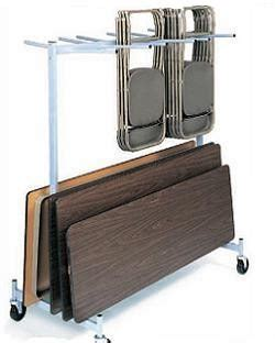 folding table storage rack raymond folding chair folding table cart 2 tier storage