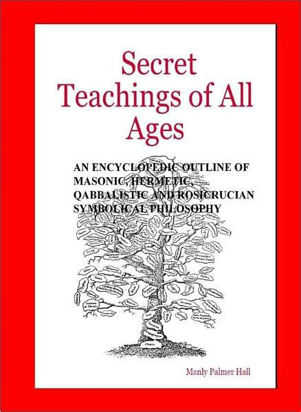 libro secret teachings of a the secret teachings of all ages by manly p hall nook book ebook barnes noble 174