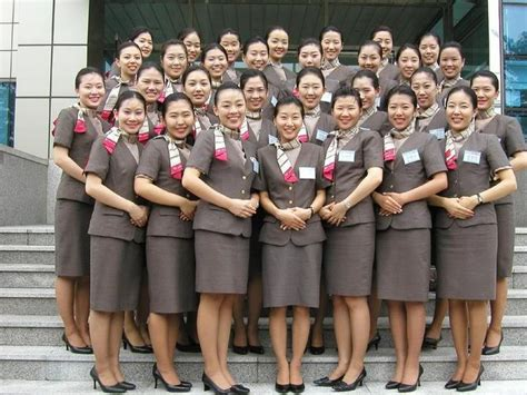 Airline Cabin Codes by Asiana Airlines Stewardess Uniforms Cabin Crew Photos