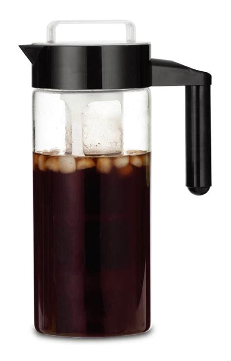 Et Coffee francois et mimi bpa free glass iced coffee maker cold