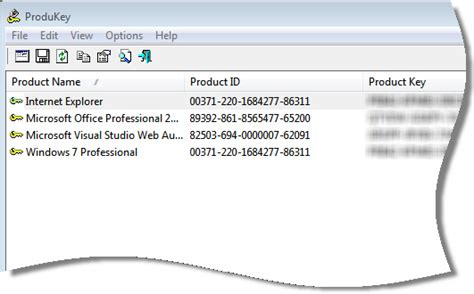 Office 2010 Product Key Finder by Product Key Finder Driverlayer Search Engine