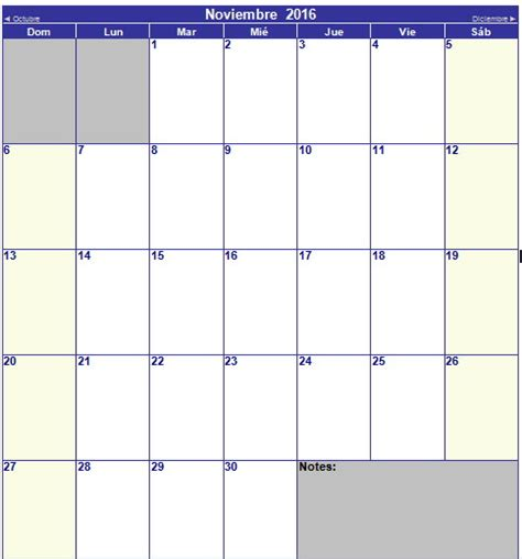 Calendario De Hoy Calendario Editable 2016 Calendar Template 2016