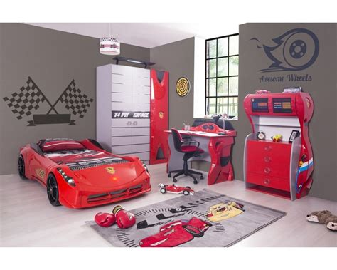 red car bedroom set boys bedroom set