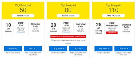 Kartu Telepon Prepaid Digi Malaysia plan digi postpaid paling murah dan jimat beli produk murah