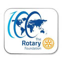 Rotary the rotary foundation 100th anniversary pin rotary club