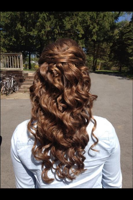 prom hairstyles for long curly hair down prom hairstyles down and curly
