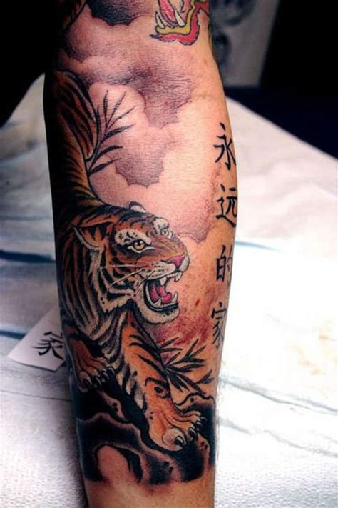 oriental tattoo forearm 140 best tiger tattoos designs for men women