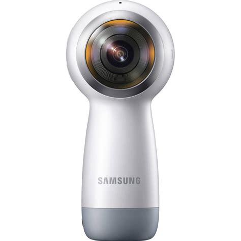 samsung vr 360 camera gear samsung gear 360 4k spherical vr camera sm r210nzwaxar b h