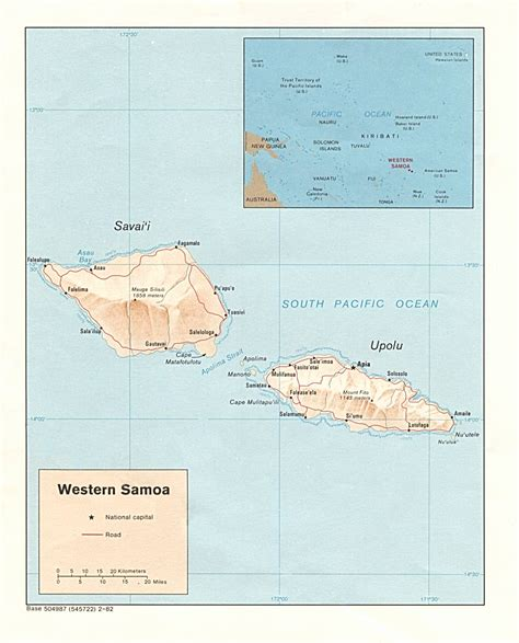 samoa map nationmaster maps of samoa 11 in total