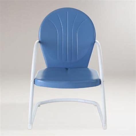 world market metal chairs blue durresi metal chair world market