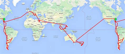 travel route map where we ve been roaming around the world
