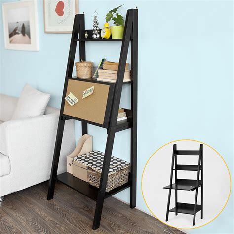 etagere 4 niveaux sobuy 174 201 tag 232 re 233 chelle d 233 co meuble de rangement 3 233 tages