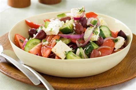 easy salad super easy greek salad recipe taste com au
