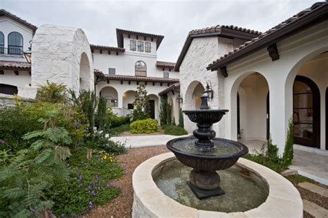 santa barbara style homes global decor works in this santa barbara style austin home