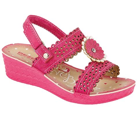 girls sandals c girls summer wedge low heel sandals flip flops flower