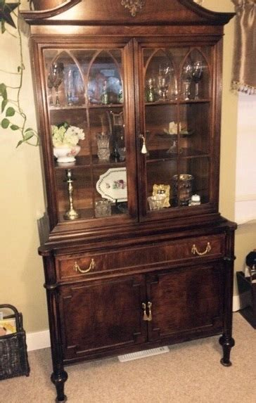 how much is my china cabinet worth can you tell me something about my 100 year old china
