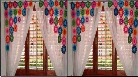 cortinas tejidas hermosas cortinas a crochet