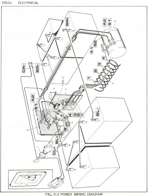 westinghouse golf cart wiring diagram get free image