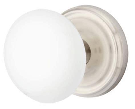 Porcelain Door Knob Sets white porcelain door knob set with regular rosette