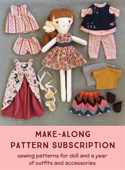 fabric crafts doll best 25 handmade dolls patterns ideas on