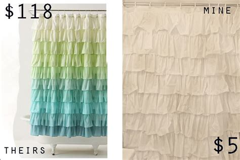 dollar store curtains do you like ruffles anthro shower curtain see kate sew