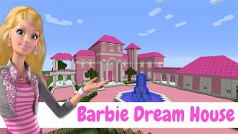 youtube barbie dream house condom 205 nio com as casas do barbie dream house minecraft youtube