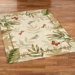 Rugs For Outdoors Butterflies Dragonflies Indoor Outdoor Rugs