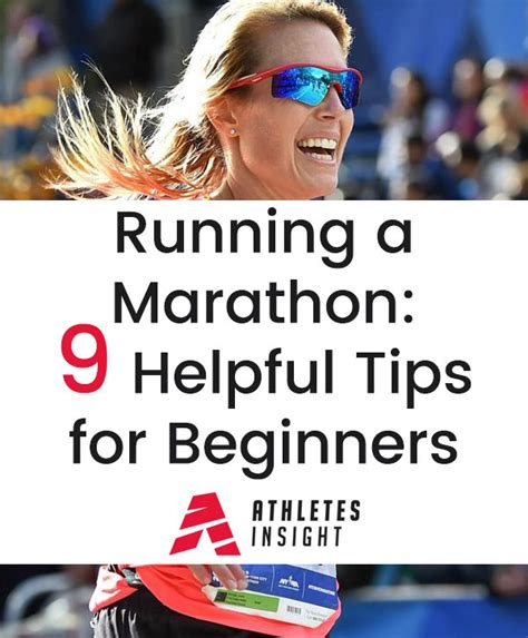 9 tips to running your running a marathon 9 helpful tips for beginners athletes insight