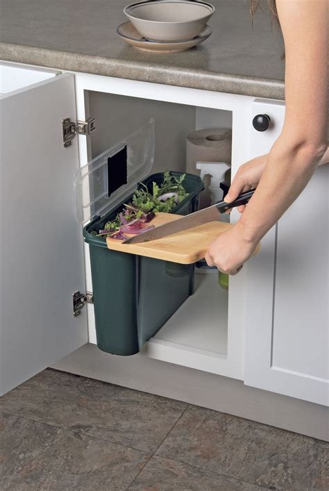 under cabinet trash bins 366 best images about kitchen waste management on
