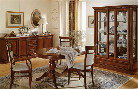 Dining Room Furniture Ideas by Italian Dining Room Design