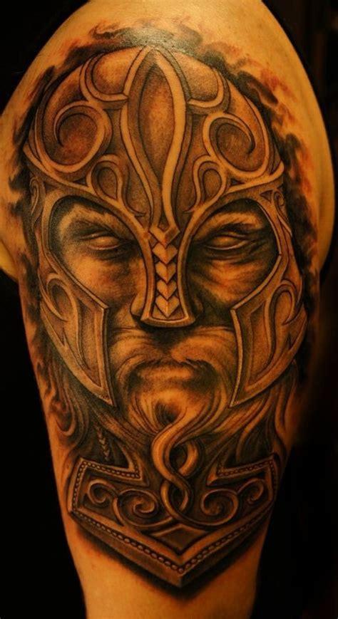 tattoo viking 57 lovely viking tribal shoulder tattoos