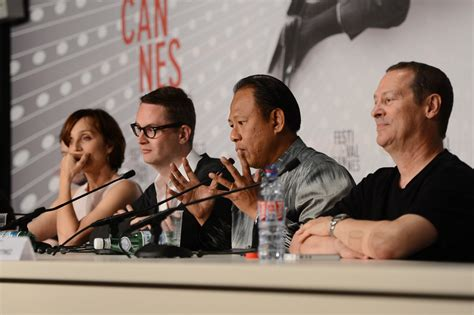 along with the gods press conference cliff martinez photos photos only god forgives press