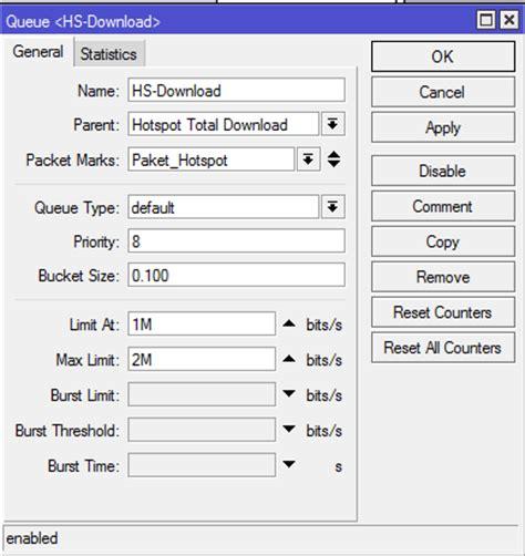 cara membuat queue tree pada mikrotik cara membatasi limit bandwidth user hotspot mikrotik