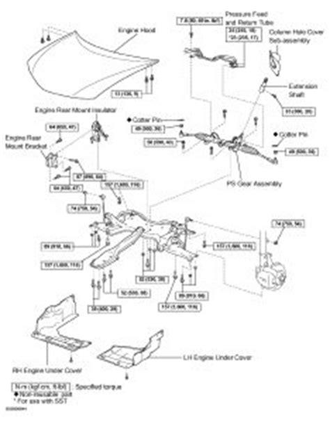 Toyota Corolla Steering Problems 2003 Toyota Corolla Steering Box Diagram Steering Problem