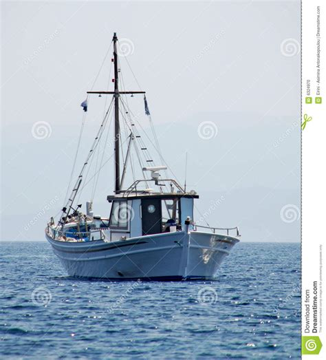 boating license greece traditional greek fishing boat stock photo image 6324970