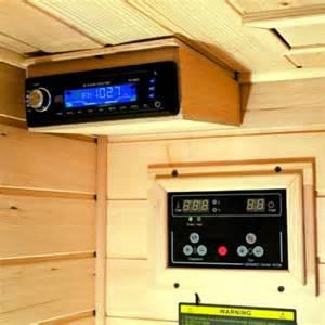 cabine sauna infrarouge ibiza 2 places