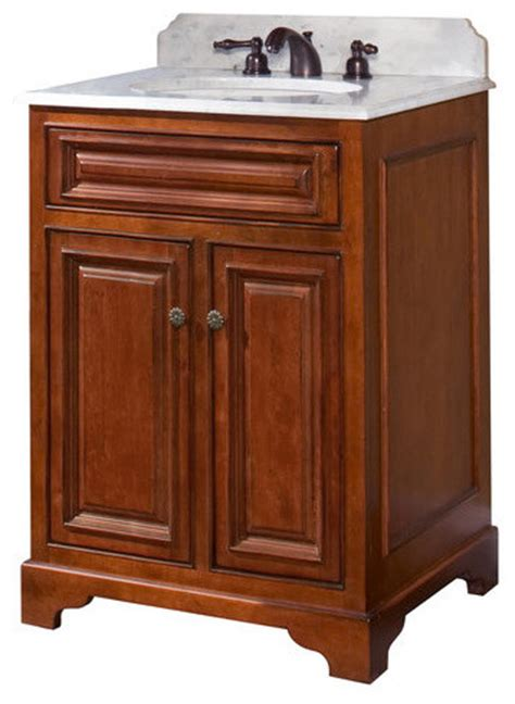 wood cb2421 cambrian cambrian 24 quot maple wood vanity