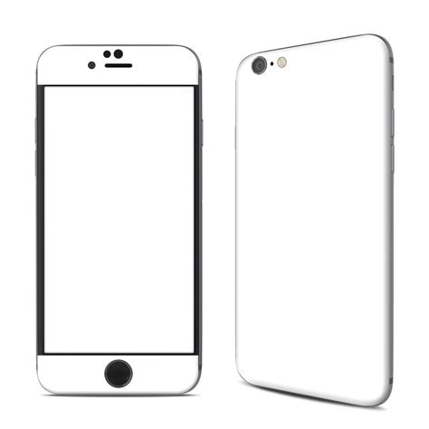 Coloring Pages Iphone 6 Plus 6s Plus Custom apple iphone 6 skin solid state white by solid colors