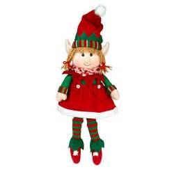 elf plush christmas stuffed toys 12 quot boy and girl elves
