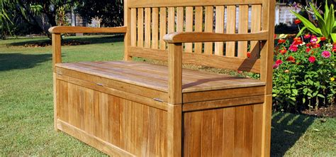 bench homebase garden storage bench homebase