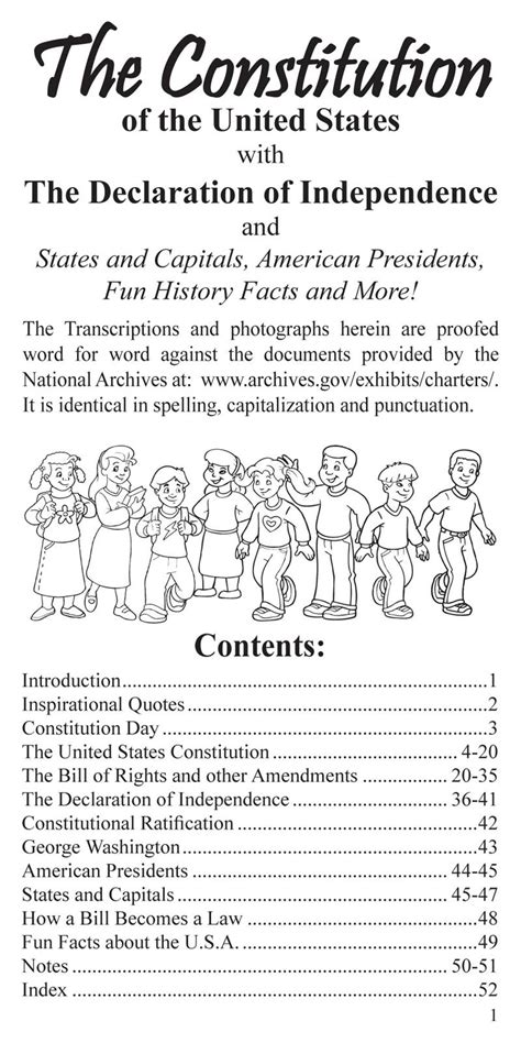 coloring pages for us constitution coloring books us pocket constitution