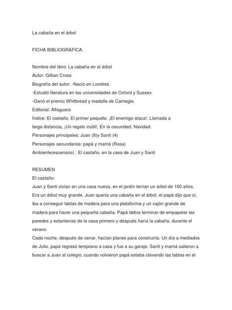 libro la cabana en el arbol pdf gratis la caba 241 a en el 225 rbol