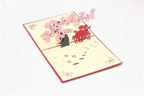 The Card Kartu Timbul jual kartu ucapan 3d anniversary pop up card l1 kado di lapak sm house