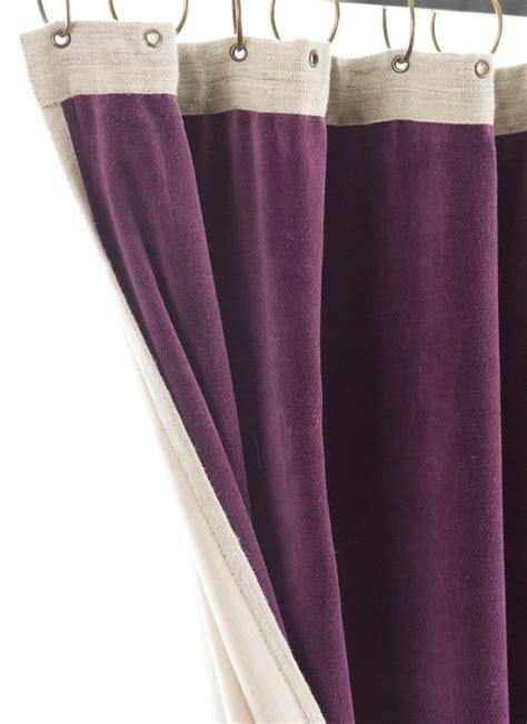 Rideau Velours Violet by Medicis Rideau En Velours Epais Violet