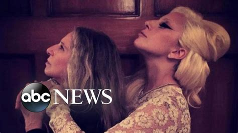 barbra streisand and lady gaga lady gaga and barbra streisand hang out taylor swift s