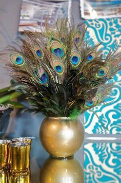 silk peacock home decor details about artificial flower arrangement peacock