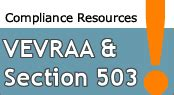 Section 503 Compliance by With Disabilities