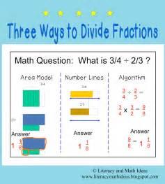 Literacy amp math ideas three ways to ide fractions
